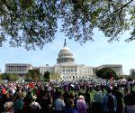 U.S. WASHINGTON PROTEST TRUMP TAX RETURNS