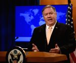 Pompeo, Iraqi president discuss Turkish offensive in Syria