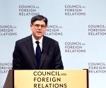 U.S. WASHINGTON JACOB LEW INTERNATIONAL FINANCIAL ARCHITECTURE REFORM