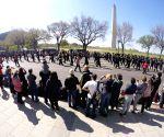 U.S. WASHINGTON D.C. CHERRY BLOSSOM FESTIVAL