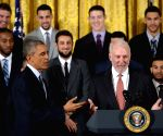 U.S. WASHINTON D.C. NBA OBAMA