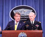 U.S. WASHINGTON D.C. PENTAGON PRESS CONFERENCE