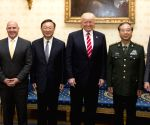 U.S. WASHINGTON D.C. TRUMP CHINESE STATE COUNCILOR MEETING