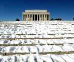 U.S. WASHINGTON D.C. WEATHER SNOW