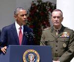 US-WASHINGTON D.C.-JOINT CHIEFS CHAIRMAN-NOMINATION