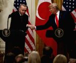 U.S. WASHINGTON D.C. TRUMP TURKISH PRESIDENT PRESS CONFERENCE