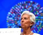 U.S. WASHINGTON D.C. IMF WORLD BANK ANNUAL MEETINGS PRESS CONFERENCE