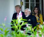 Washington DC: Modi meets US President Donald Trump at White House