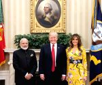 Washington DC: Trump, Melania give PM Modi a warm welcome at White House