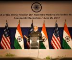 Washington DC: Modi addresses US Indian diaspora