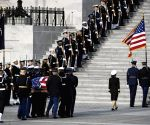 U.S. washington D.C. george H.w. Bush lying In State