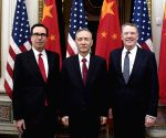 US-China trade talks resume in Washington