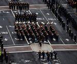 U.S. WASHINGTON D.C. PRESIDENT TRUMP INAUGURAL PARADE