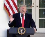 U.S. WASHINGTON D.C. TRUMP GOVERNMENT REOPENING THREE WEEKS