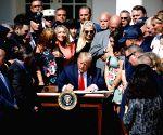 U.S. WASHINGTON D.C. TRUMP 9/11 VICTIMS COMPENSATION