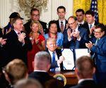 U.S. WASHINGTON D.C. TRUMP VA ACT SIGNING