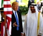 U.S. WASHINGTON D.C. UAE ABU DHABI CROWN PRINCE VISIT