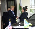 U.S. WASHINGTON D.C. UZBEKISTAN PRESIDENT MEETING