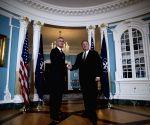 U.S. WASHINGTON D.C. POMPEO NATO STOLTENBERG MEETING