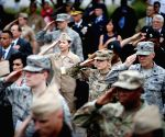 U.S. ARLINGTON PENTAGON 9/11 ATTACKS 17TH ANNIVERSARY