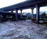 Vrishabhavathi river water inundates Bengaluru