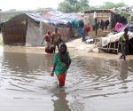 Water inundates low lying areas of national capital