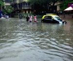 Waterlogged roads of Mumbai