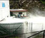 Water pipeline bursts in Uttarakhand