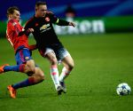 RUSSIA-KHIMKI-SOCCER-UEFA CHAMPIONS LEAGUE-CSKA MOSCOW VS MANCHESTER UNITED