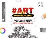 Wear the Art of Motorcycling on your sleeve, literally