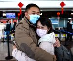 CHINA MEDICAL WORKERS DEPARTURE