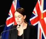 WELLINGTON, March 16, 2019 (Xinhua) -- New Zealand Prime Minister Jacinda Ardern reacts during a briefing in Wellington, capital of New Zealand, on March 16, 2019. Jacinda Ardern reiterated to the public on Saturday morning that the country's gun law(Image Source: IANS News)