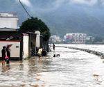 CHINA GANSU HEAVY RAINFALL