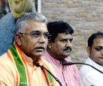 Dilip Ghosh talks to press