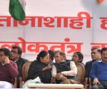 Opposition sit-in against Central Government