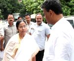 WB CM arrives at the state assembly