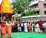 ISKON's Rath Yatra celebration - Mamata Banerjee, Koel Mallick, Rituparna Sengupta, Srabanti, Dona Ganguly
