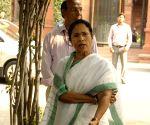 Mamata Banerjee arrives to meet Modi