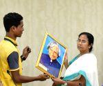 Mamata Banerjee felicitates Madrasa toppers