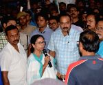 Mamata Banerjee meets SSC candidates