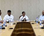 Mamata Banerjee during a meeting