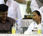 Ifter party - Mamata Banerjee, Sourav Ganguly