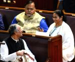 Amit Mitra presents West Bengal Budget 2020-21 in the Assembly