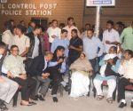 Mamata Banerjee begins sit-in demonstration