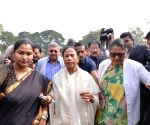 Mamata Banerjee at Parliament
