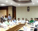 WB CM during a meeting with state ministers