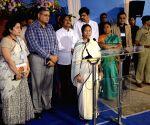 Mamata Bannerjee meets officials