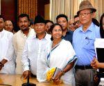 WB CM Mamata at Nabanna