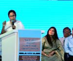 WB CM lays foundation stone for Calcutta Leather Complex