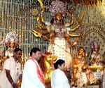 WB CM inaugurates Chalta Bagan Durga Puja pandal
